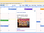Virto Ajax SharePoint Web Part Calendar