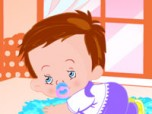 Baby in Room Dress Up Game