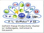 GoPoint Popup Productivity Cluster Screenshot