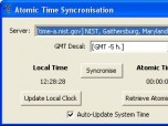 Atomic Time Synchronization Screenshot