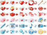 Delicious Love Icons Screenshot