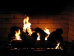 Free Fireplace Screensaver