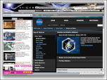 NASA Space theme for Firefox