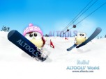 ALTools Ski Resort Desktop Wallpaper Screenshot