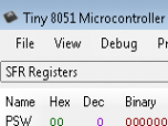 Tiny 8051 Screenshot
