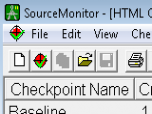 SourceMonitor Screenshot