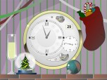 Xmas Clock screensaver Screenshot