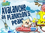 Spongebob Avalanche at Planktons Peak