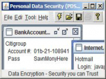 Professional Data Security (PDS) Screenshot
