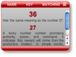 Numerology Widget