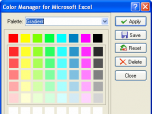 Color Manager for Microsoft Excel