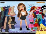 Sasha Bratz Dress Up Game