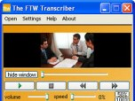The FTW Transcriber