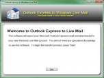 Outlook Express to Windows Live Mail Screenshot