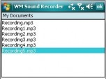 WM Sound Recorder Screenshot