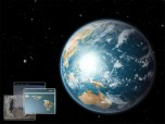Earth 3D Space Survey Screensaver for Mac OS X