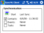 Synthesis SyncML Client STD for Windows Mobil