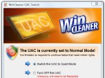 WinCleaner UAC Switch