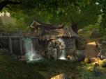 Watermill 3D Screensaver Screenshot