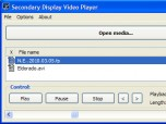 Secondary Display Video Player
