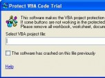 Protect VBA Code Screenshot