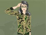 Military Girl Dress Up Game
