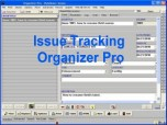 Issue Tracking Organizer Pro Screenshot
