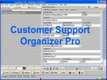Customer Support Organizer Pro Screenshot