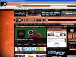 NHL Philadelphia Flyers Firefox Theme
