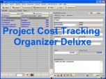 Project Cost Tracking Organizer Deluxe