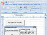 Excel Tool VBA Password Recovery Screenshot