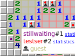 Cooperative Minesweeper client Screenshot