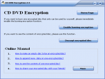 GiliSoft CD DVD Encryption Screenshot