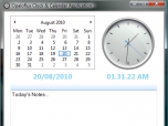 Opaloflux Clock & Calendar Application