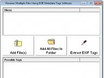Rename Multiple Files Using EXIF Metadata Tags Sof