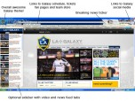 MLS LA Galaxy Soccer IE Browser Theme