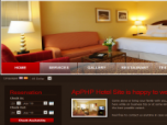 ApPHP Hotel Site web reservation system Screenshot