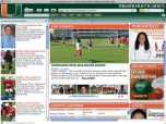 Miami Hurricanes Firefox Theme