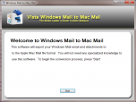 Vista Mail to Mac Mail Screenshot