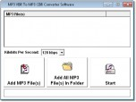 MP3 VBR To CBR Converter Software
