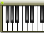 Virtual Piano Windows Gadget