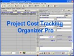 Project Cost Tracking Organizer Pro Screenshot