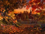 Autumn Wonderland 3D Screensaver