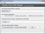 Totally Free DVD Ripper Screenshot