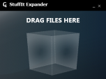 StuffIt Expander 2011 for Windows x86 Screenshot