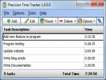 Precision Time Tracker