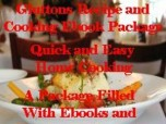 Gluttons Recipe and Cookbook Package
