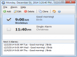 Free Alarm Clock Portable Screenshot