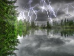 Amazing Thunderstorm Screensaver Screenshot
