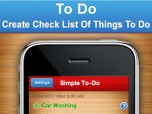 To Do - Create Check List Of Things To D